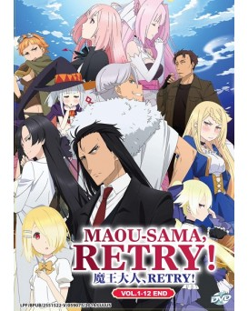 * ENG DUB * MAOU-SAMA, RETRY ! VOL.1-12 END