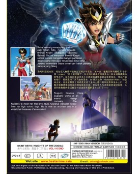 * ENG DUB * SAINT SEIYA: KNIGHTS OF THE ZODIAC VOL.1-6 END