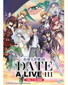 * ENG DUB * DATE A LIVE III VOL. 1-12 END